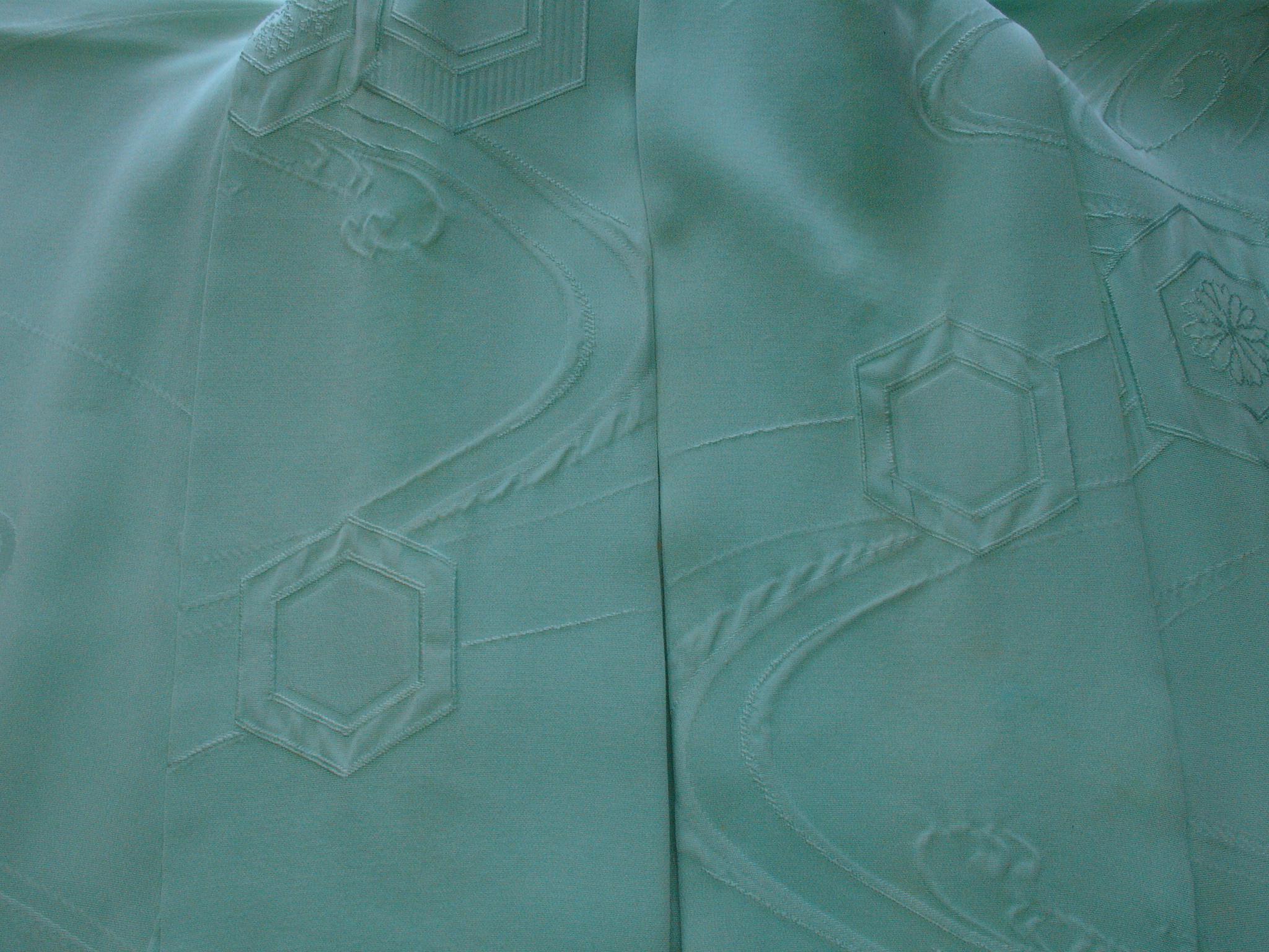 着用による衿の脱色AFTER